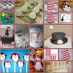 Disney Donna Kay: Disney Party Board - Mary Poppins Party