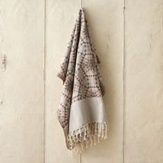 Honeycomb Cotton Throw in Outdoor Living ENTERTAINING Throws + Blankets at Terrain
