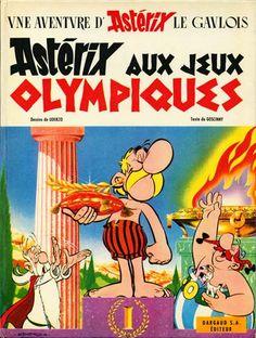 """R. Goscinny & A. Uderzo """"Astérix, tome 12 - Astérix aux jeux Olympiques"""""""