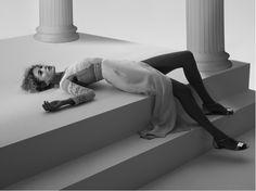 Doutzen Kroes Channels Inner Goddess for Cuneyt Akeroglu in Vogue Turkey