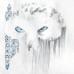 Totem — snowy owl.