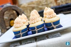 medical theme - like the twine around the cupcakes