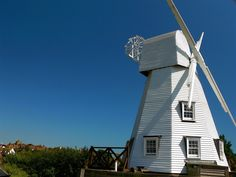 10 Unusual Places to Stay in the UK | Rye Windmill Bed & Breakfast - Rye, East Sussex - A grade II listed windmill and one of the most famous landmarks in Rye. Situated on the river and close to all that is quaint and perfectly English in East Sussex, this windmill is … well, it's a windmill! Who wouldn't want to stay in a windmill?! Apart from the novelty aspect, this is a four-star B&B so you will be well looked after and can enjoy a well-deserved break.