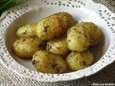 młode ziemniaki z piekarnika Bajeczna Kuchnia
