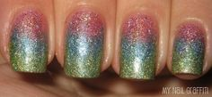 Milani holo gradient manicure by jodie