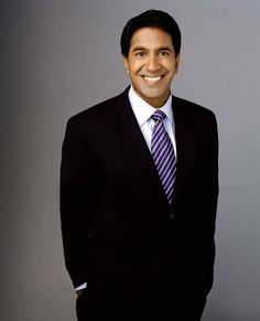 Dr. Sanjay Gupta - cutest doctor I've ever seen!