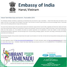 We cordially inviting you all for the Vibrant Tamilnadu's grand
