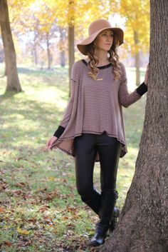 Spirited Expression Top || The Mint Julep Boutique https://www.shopthemint.com/products/spirited-expression-top-mocha-black