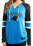 """Carolina Panthers Women's Majestic NFL """"Winning Style"""" Long Sleeve Shirt"""