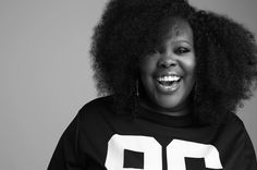Amber Riley by Lance Gross