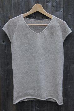 Knit Linen T-shirt