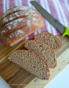 FIRIN İÇİNDE İKİNCİ MAYALANDIRMA Malzemeler: - 3 su bardağı tam buğday unu - 1 tatlı kaşığı toz m... Gluten Free Oat Bread, Food, Meals