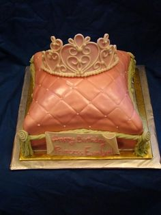 how to make a pillow cake with buttercream