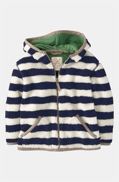 {Striped Hoodie} Looks so comfy...