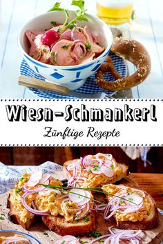 Oktoberfest delicacies for those who stayed at Dahoam- Wiesn-Schmankerl für Dahoamgebliebene Oktoberfest delicacies for At home - Oktoberfest Party, Beer Recipes, Baby Food Recipes, Polynesian Food, Austrian Recipes, Dessert Blog, Gujarati Recipes, Unprocessed Food, Party Buffet
