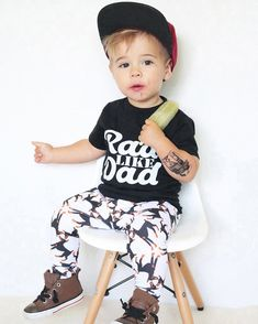 def1e15e124 Rad Like Dad Outfit – That s Two Cute Dad Outfit