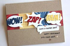 Super Day Card by Heather Nichols for Papertrey Ink (January 2015)