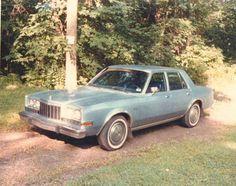 Old  Vintage Photograph 1984 Dodge Diplomat Car Automobile Vehicle 1985
