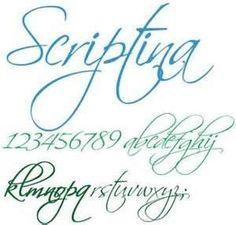 Tipos De Letras Cursivas Tatuajes s Images