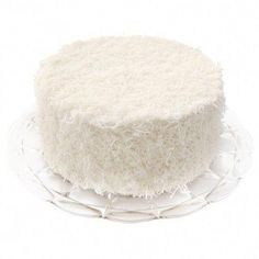 White Chocolate Coconut Cake - Idea, what if we get a bunch of cakes from VALERIE for the wedding? White Chocolate Buttercream, White Chocolate Cake, Wasc Cake Recipe, Fig Cake, Pie Shop, Fresh Flower Cake, Eat Dessert First, Cake Batter, Let Them Eat Cake
