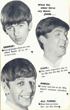 The day John met Paul is definitely the most important day in Rock n' Roll history! The Beatles on John