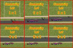 Mod The Sims - Lots of Lots - Mini community lots
