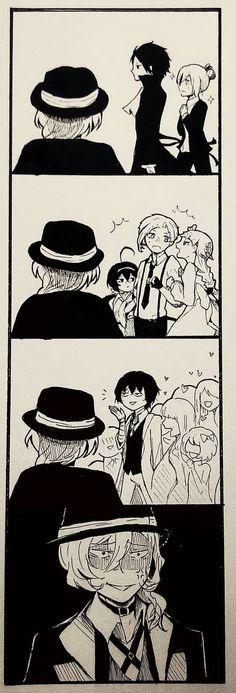 Poor Chuuya... Don't worry I'll be his fangirl lolol (o゚▽゚)