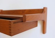 Floating drawers by Borge Mogensen for Soborg Mobler
