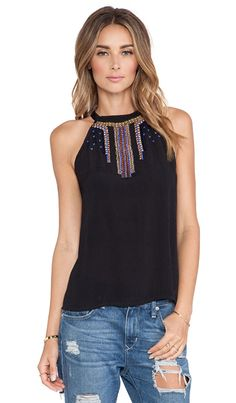 Tularosa Joanna Tank in Black