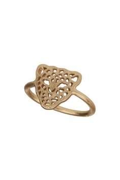 Cut Out Tiger Midi Ring