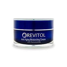 Revitol Anti-Aging Skin Cream Moisturizer with Phytoceramides - Moisturizing Lotion with Phytoceramides, Natural Ceramides, Argiline, Shea Butter, and Primrose Oil