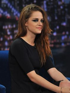 Celebrity Lookbooks: Kristen Stewart at Late Night with Jimmy Fallon, New York