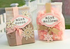 Mint Cocoa and Mint Mallows