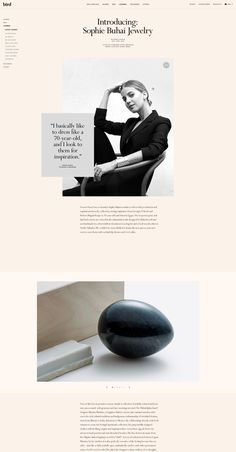 Custom Magento Web Design – Bird – Hugo & Marie, NYC