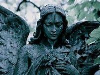 Nalezený obrázek pro Cemetery Angel Statues