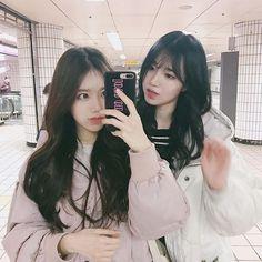 ˗ˏˋ ♡ @ e t h e r e a l _  ˎˊ˗ Ulzzang Korean Girl | Hair and Makeup