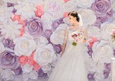 スケールが違う!!海外花嫁が結婚式で用意するフラワーフォトブースが凄すぎて感動*