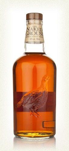 """""""The Naked Grouse is brilliant stuff, made with malt from Highland Park and Macallan and aged in first fill sherry casks. The result is a cracker, and stonkingly good value-for-money too.    The nose offers up smooth, oily notes of cherry compote, buttered granary toast and rhubarb custard, and the palate is thick, sherried and malty with hints of Victoria sponge cake and vanilla."""""""