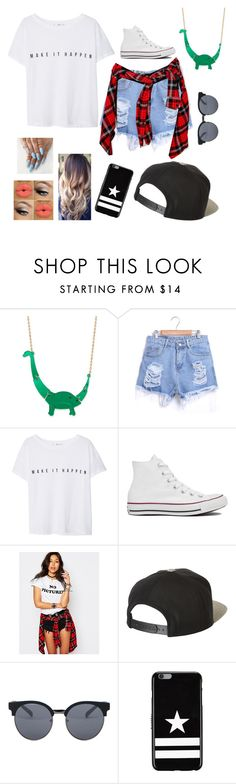 """""""Even more stuff"""" by superhannah15 ❤ liked on Polyvore featuring MANGO, Converse, Motel, Brixton, Quay and Givenchy"""