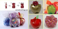 Eco-packing: creative ideas made with recyclable materials