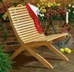 R14-738 - Folding Contoured Lawn Chair Vintage Woodworking Plan…