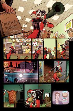 Joker's Asylum One-Shot - Harley Quinn by Joe Quinones *