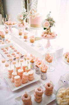 Lovely dessert table idea |wedding desserts| | wedding dessert table | | delicious desserts | | wedding | |desserts | #weddingdesserts #weddingdesserttable #wedding  http://www.roughluxejewelry.com/