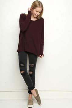 Brandy ♥ Melville | Leia Sweater - Sweaters - Clothing
