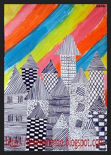 Tekenen en zo: Onder de regenboog