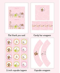 Safari Girl Jungle Animal Baby Shower Party by LittlePrintsParties, $12.00