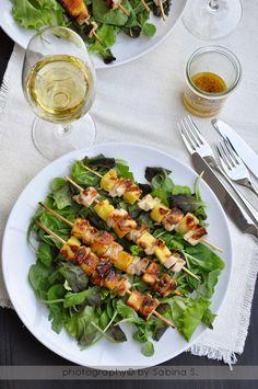 Due bionde in cucina: insalate