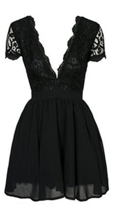 Fancy Little Black Dress.