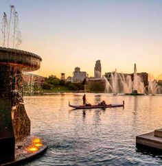 "Free Things to do in Omaha, NE - Spend a day or night by the water at Heartland of America Park and Fountain. ""Catch the spectacular Heartland of America Fountain with its 300-ft water jet and light show. Lewis & Clark Interpretive exhibits, WWII and Airborne Memorial Sculptures and a pedestrian bridge connecting to the Lewis & Clark Landing. Gondola rides by Heartland Gondola. Located across the street from the historic downtown Old Market area"
