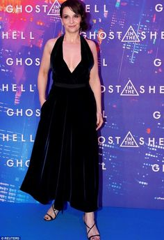 Juliette Binoche attended the Ghost In The Shell premiere in Paris 3/21/2017